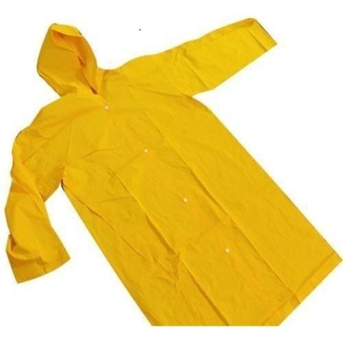 Capa De Chuva Com Capuz Pvc Forrado Resistente Proteção