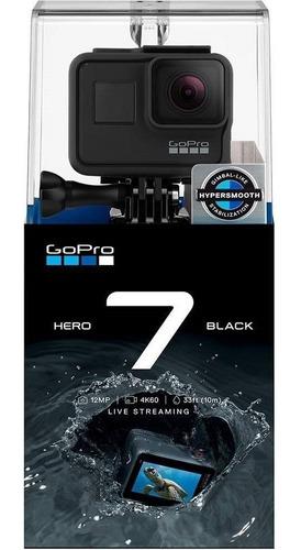 Kit 3   Câmera Digital   Gopro Hero7 Black (4k)