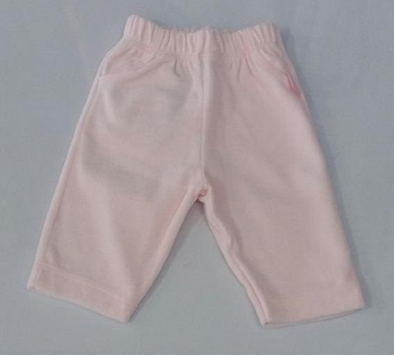 Calça Para Bebê Menina De Plush 2 Peças Rosa Be Little