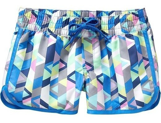 Short Old Navy Deportivo Impermeable Geometrico