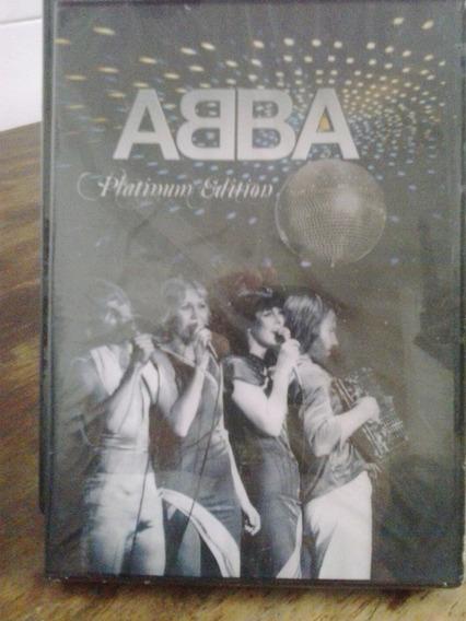Abba-dvd, Platinum Edition- Cd Original Cerrado Y Sellado