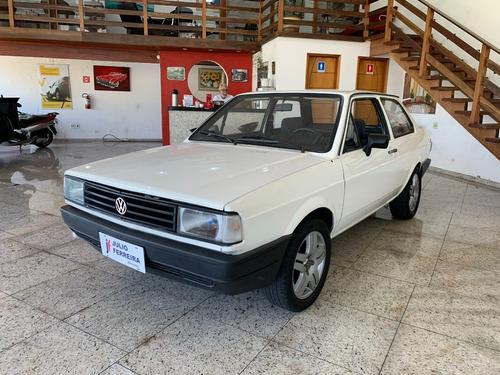 Volkswagen Voyage 1.6 Álcool Branco 1987