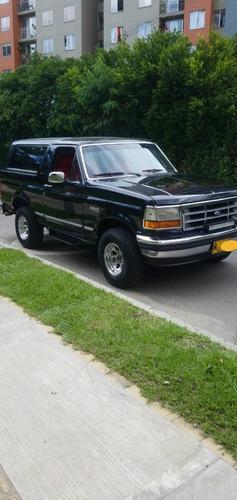 Ford Bronco,tapizado En Cuero,afinacion Nueva,negociable....