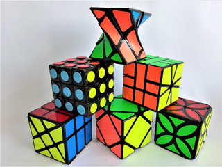 Cubos Rubik Magic Cube Fibra Carbono