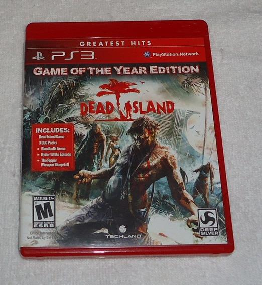 Dead Island Gh Ps3 Goty ** Leia