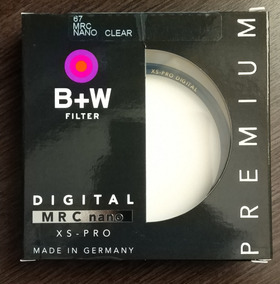 Filtro Uv B+w 67mm Haze Mrc Nano Xs-pro 010m 67mm
