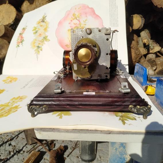 Radio Galena Capacitor Variavel Antigo Feira De Ciencias