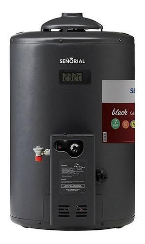 Imagen 1 de 2 de Termotanque Señorial  Black 2.0 Gas 50 Litros
