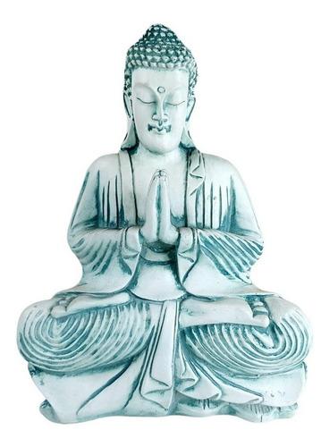 Buda Verde/branco   29 Lar X 39 Alt X 12 Prof