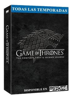 Game Of Thrones Juego De Tronos Todas Las Temporadas