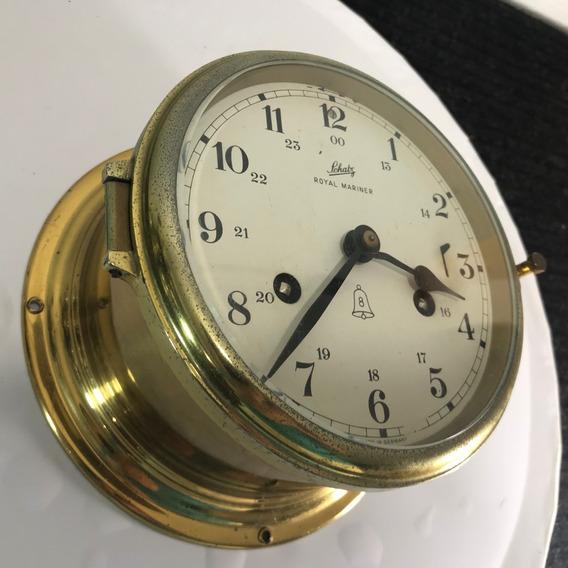 Hermoso Reloj Alemán 100% Original Schatz Marinero Vintage