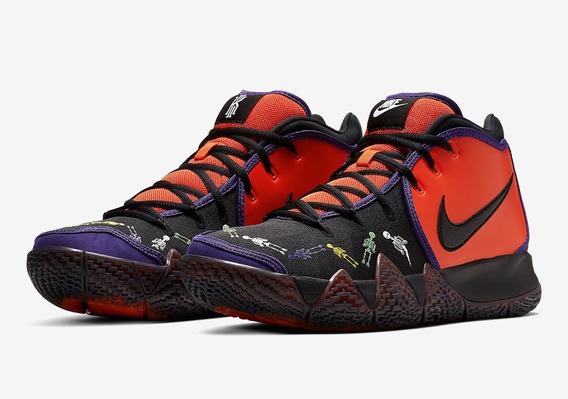 Nike Kyrie 4 Día De Muertos #8.5 Lebron Durant Nba Jordan
