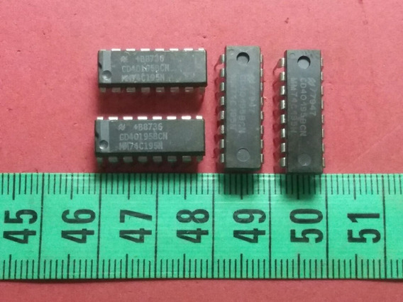 Cmos Cd 40195 Bcn 4-bit Universal Shift Register