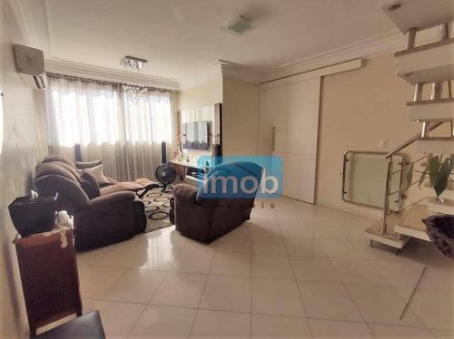 Imagem 1 de 30 de Cobertura À Venda, 150 M² Por R$ 900.000,00 - Boqueirão - Santos/sp - Co0221