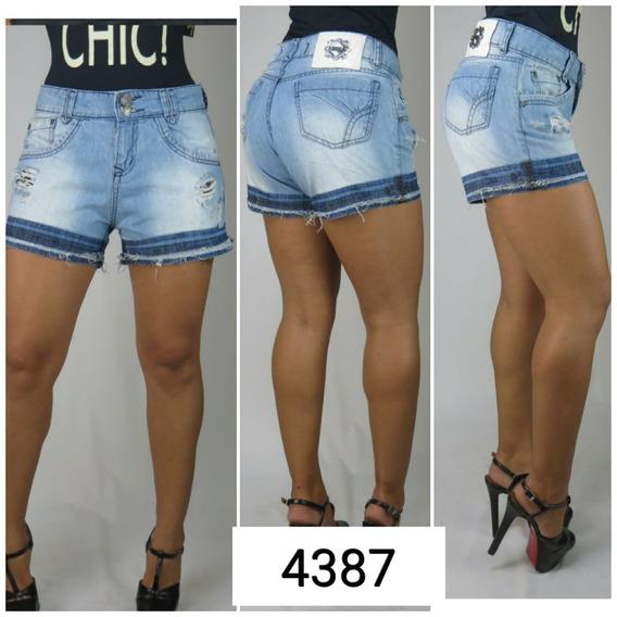 Shorts Jeans Feminino Boyfriend 4387