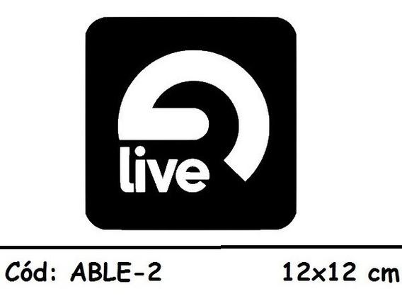 Adesivo Sticker Ableton Live Deejay Dj Produtor- Able-2