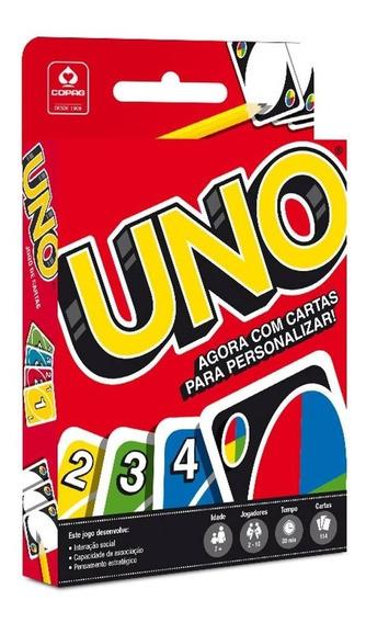 Jogo De Cartas Baralho Mattel Games Copag Uno 114 Cartas