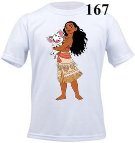 Camiseta Infantil Personalizada Moana