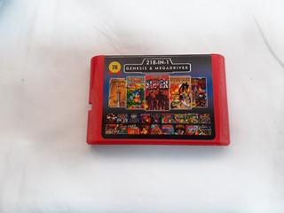 Sega Genesis Varios En 1 Cassette No Es Para La Mini Atgame