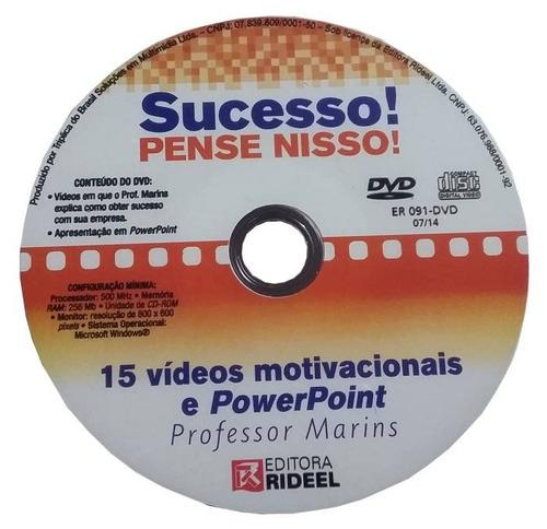 Dvd Original Sucesso! Pense Nisso! Prof. Marins - Original