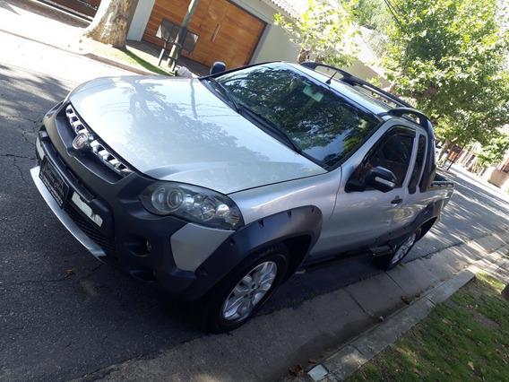 Fiat Strada Adventure Ce Pack Seguridad Nafta 1.6 2013