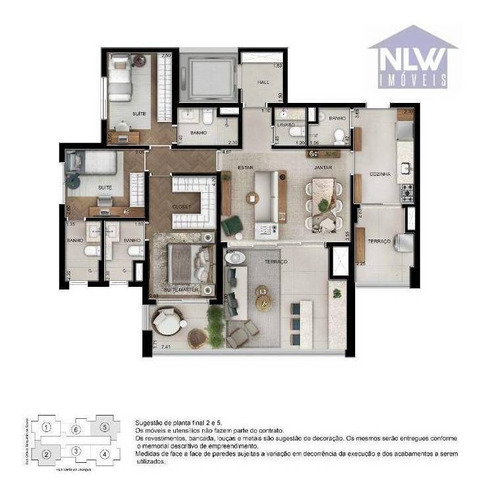 Imagem 1 de 16 de Apartamento Com 3 Dormitórios À Venda, 123 M² Por R$ 1.701.650,00 - Campo Belo - São Paulo/sp - Ap2680