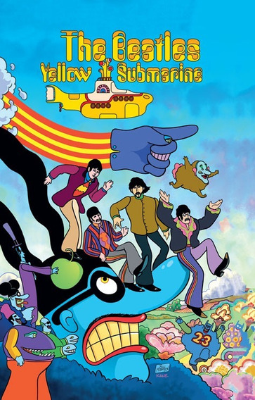 Comic The Beatles Yellow Submarine Tapa Dura Sellado