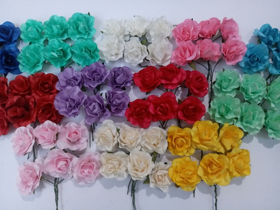 Flores De Papel X 1 Docena