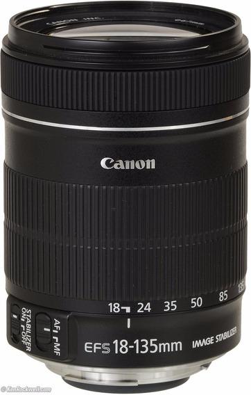 Lente Canon Ef-s 18-135mm F/3.5-5.6 Is Nova Nfe