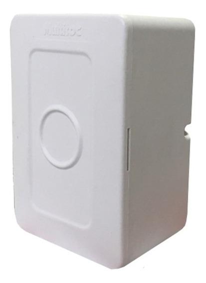 Mini Caixa Sobrepor Cftv Branca Mucx0050 Multitoc