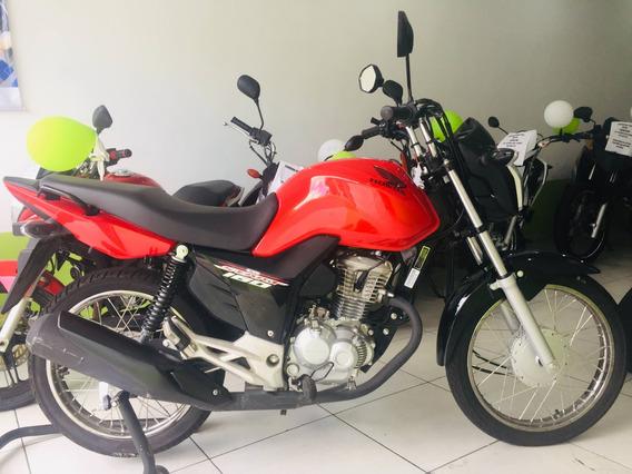 Honda Cg 160 Start Apenas 1000km Originais