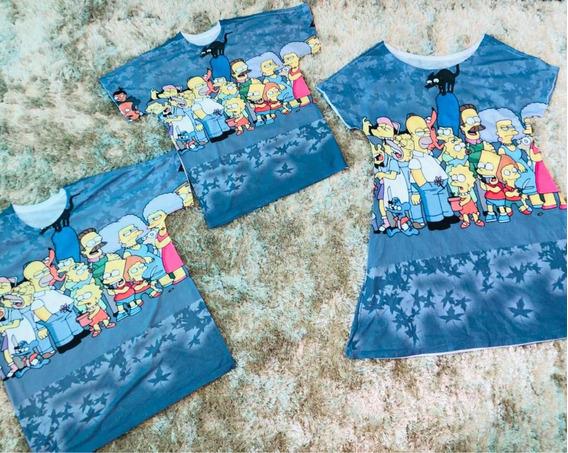 Kit Família Simpsons