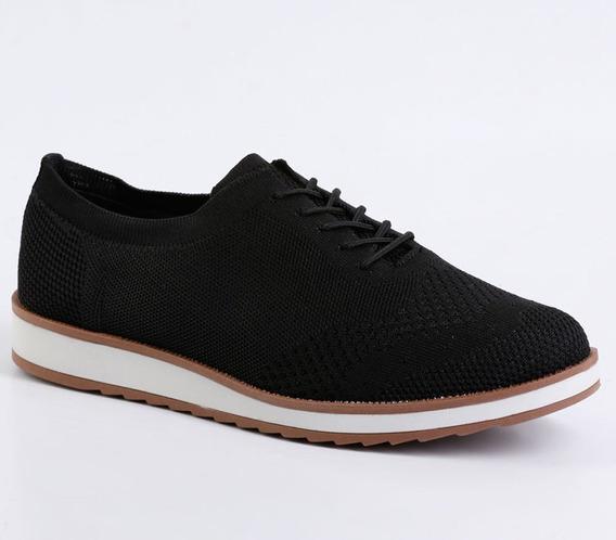 Tenis Sapato Feminino Oxford Dakota B9511 Flatform Malha