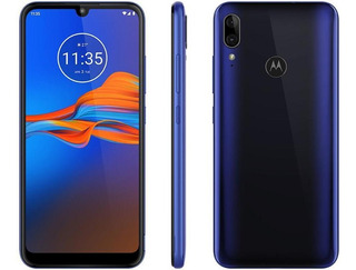 Smartphone Motorola E6 Plus Xt2025-1 32gb 4g Azul Netuno