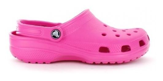 Sandalia Para Mujer Crocs Classic-013328 Color Neon Magenta
