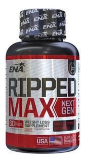 Ripped Max Next Gen 60 Tabs - Ena Sport - Quemador