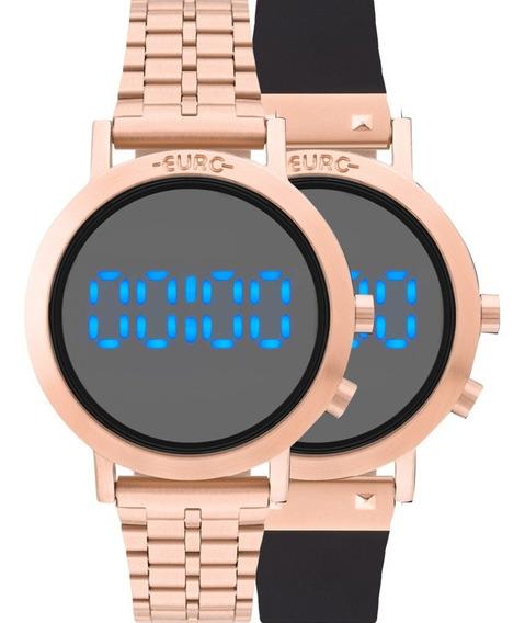 Relógio Euro Fit Feminino Digital Eubj3407ac/t4p