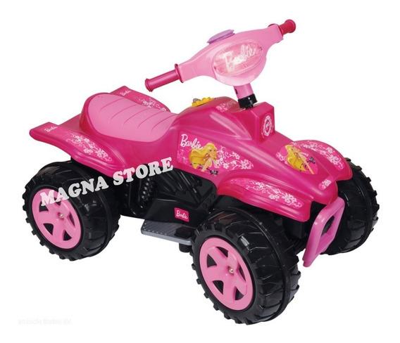 Cuatriciclo A Bateria Barbie 6v Biemme 3 A 6 Años
