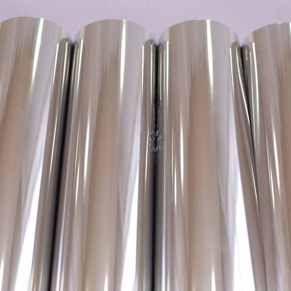 Insulfilm Espelhado Prata Bobina 68cm X 5 Mts
