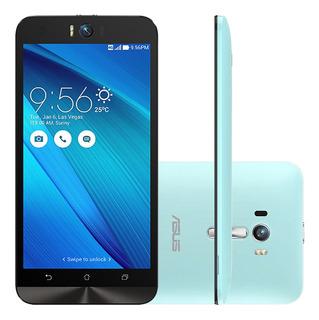 Asus Zenfone Selfie Zd551k 32gb 3gb Ram Azul Vitrine 2