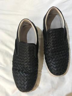 Bottega Veneta Sneakers Slip On Black