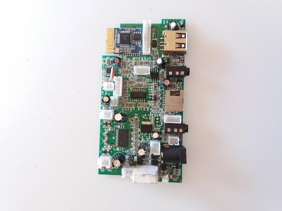 Placa Principal Caixa Amplificada Mondial Cm-07