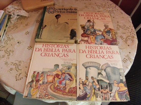 Lote Com 4 Livros Totalmente Ilustrados