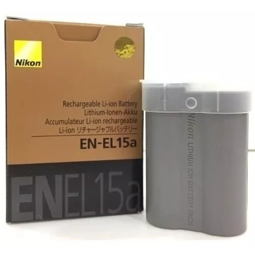 Bateria En-el15a P/nikon D 850 Nova - Pronta Entrega