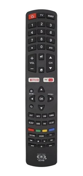 Control Pantalla Smart Tv Pioneer Netflix Youtube Pilas /e