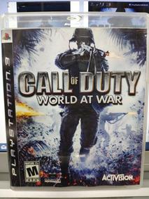 Jogo Call Of Duty World At War Playstation 3, Mídia Física