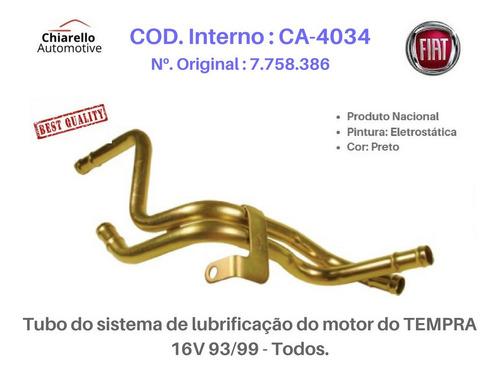 Tubo Lubrificação Do Motor Do Tempra 16v 93/99 - Todos