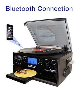 Boytone Bt-22b, Bluetooth Tocadiscos De La Placa Giratoria,