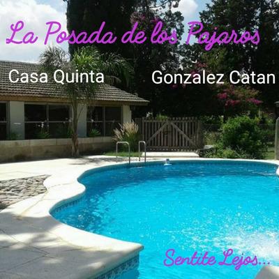 Casa Quinta Alquiler Temporario La Posada De Los Pajaros