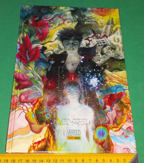 Sandman Prelúdio 3 Neil Gaiman - Graphic Novel Nova